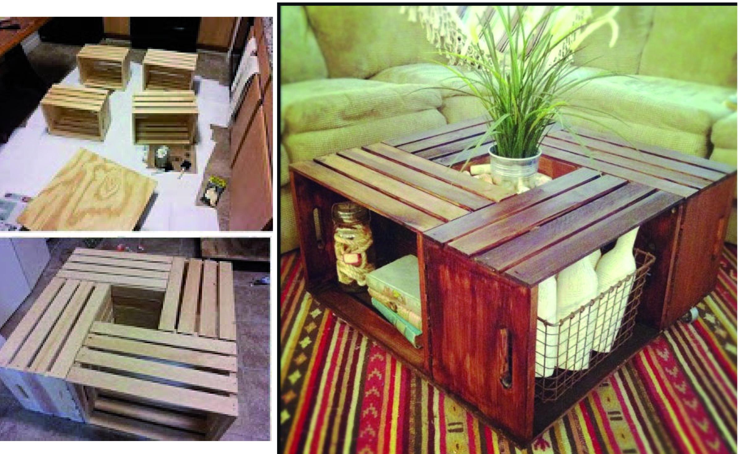 Recicla Sushifactoryblog # Muebles De Jabas De Madera