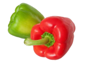 pimiento-verde-rojo