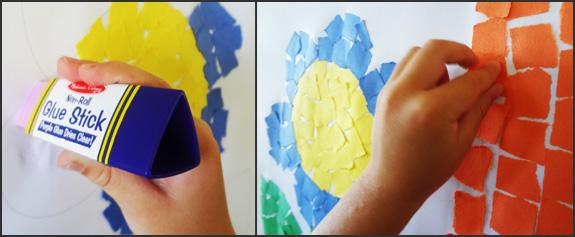 Crear arte con papel