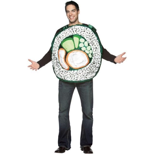 Disfraz de sushi hombre