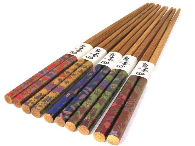Palillos con diseño
