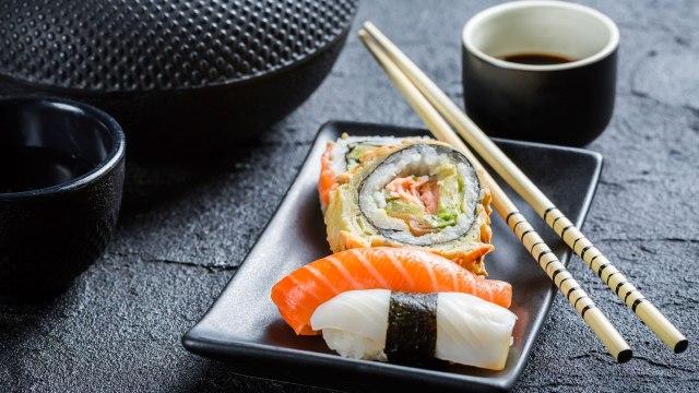 Sushi palillos