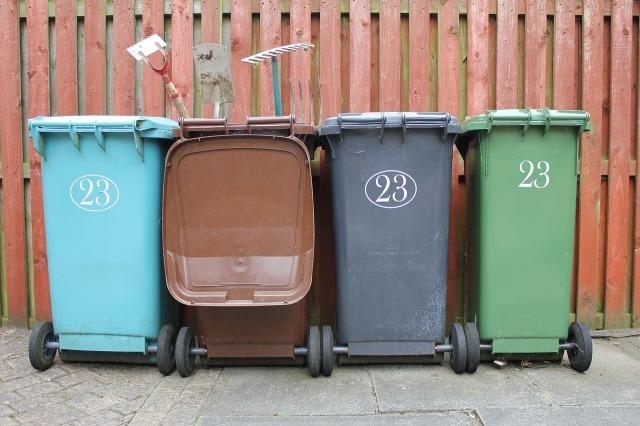 Botes para reciclar