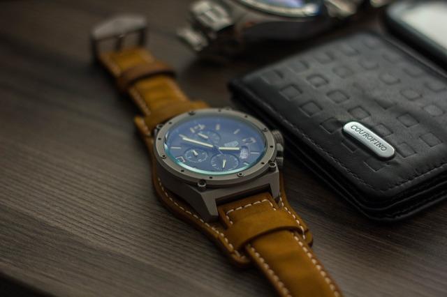 Reloj y cartera