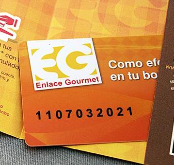 Tarjeta Enlace Gourmet