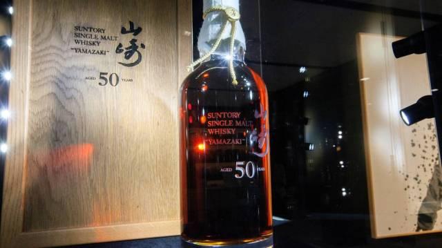 Botella de whisky de un millón